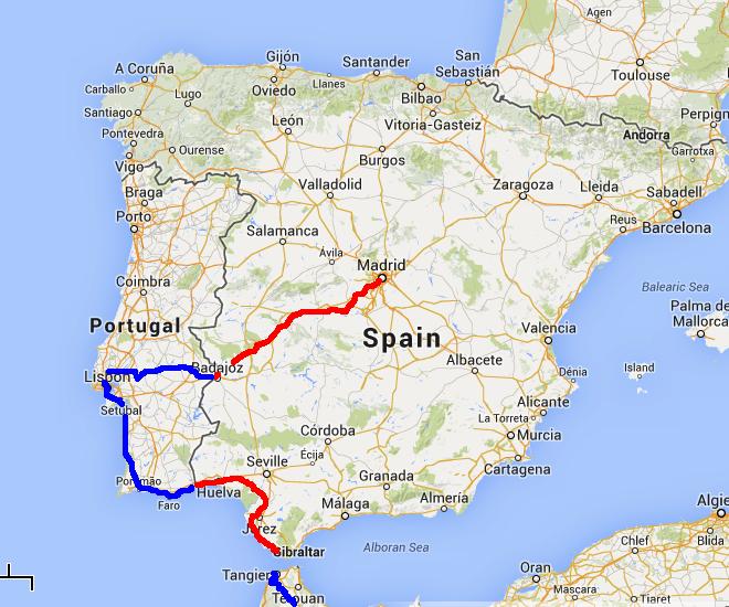 Spain Free Life by Bike